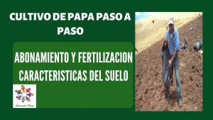Abonamiento y Fertilización en el cultivo de papa – UC 2 – E 3