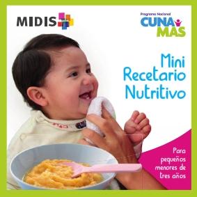 Recetario: Mini Recetario Nutritivo